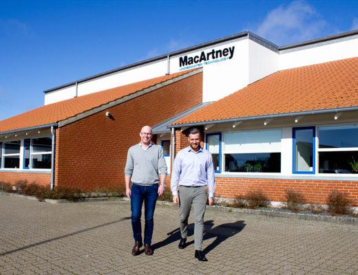 MacArtney har styrket afdelingen Offshore Wind med Bjørn Joensen og Erik J. Aalbæk, der er ansat som henholdsvis salgsdirektør og salgschef.