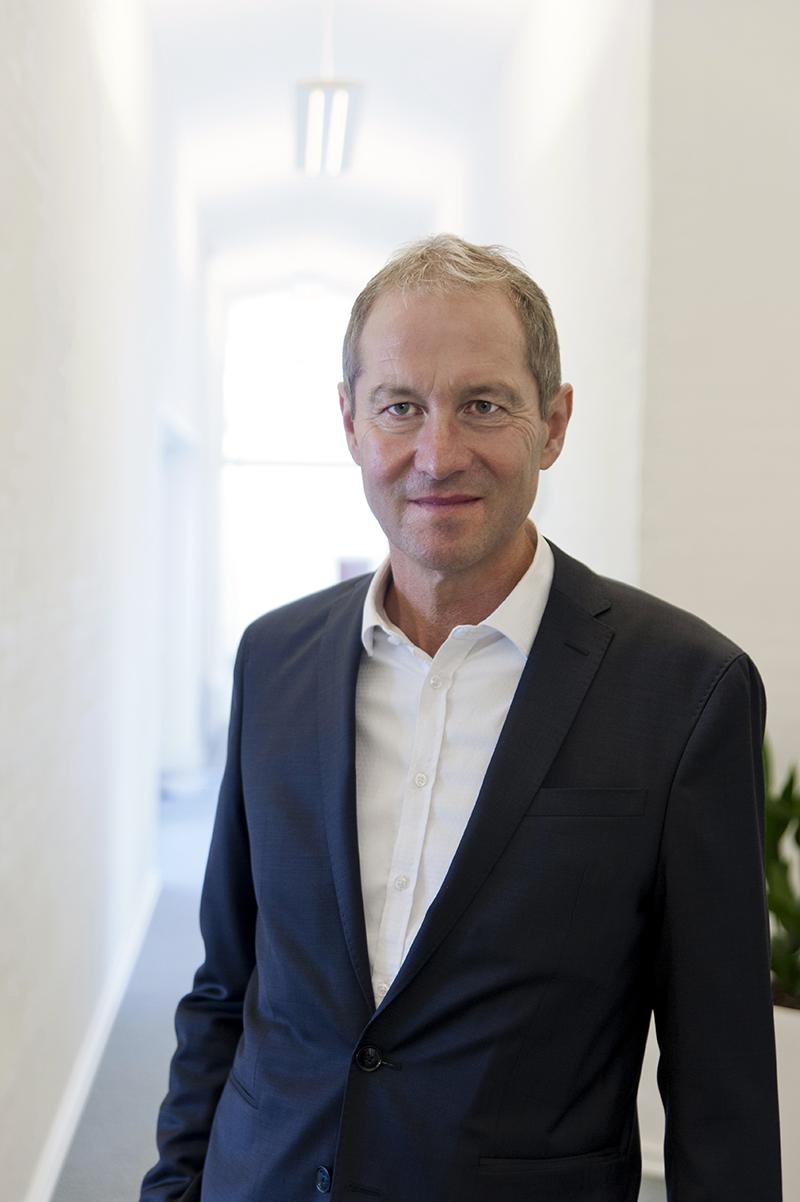 CEO i MacArtney A/S Claus Omann er særdeles godt tilfreds med, at have leveret et regnskabsår, hvor overskuddet blev mere end fordoblet i forhold til 2018. Virksomheden satser på yderligere vækst i årene der kommer.