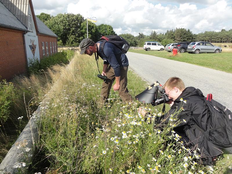 Entusiasmen var stor blandt deltagerne. Foto: Inge Nagstrup.