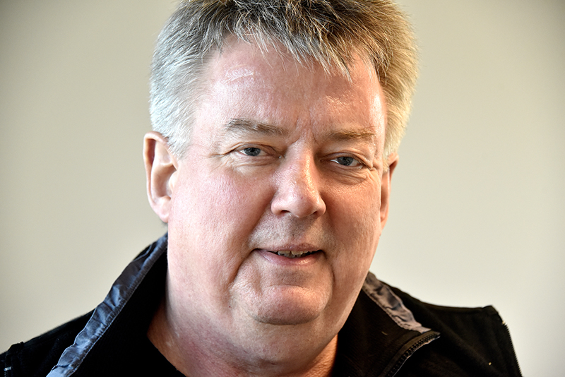 Michael Erting, formand for Den selvejende institution Hjerting Sports- og Kulturhus.