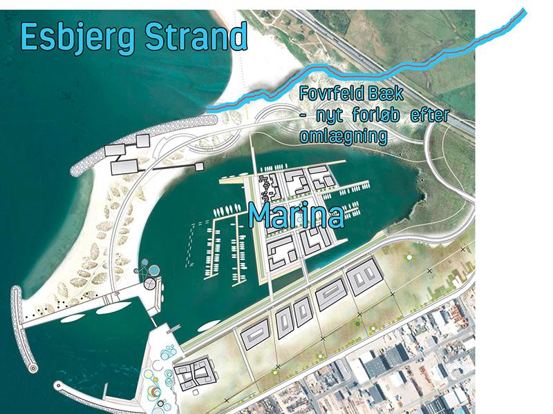 Esbjerg Strand udløb