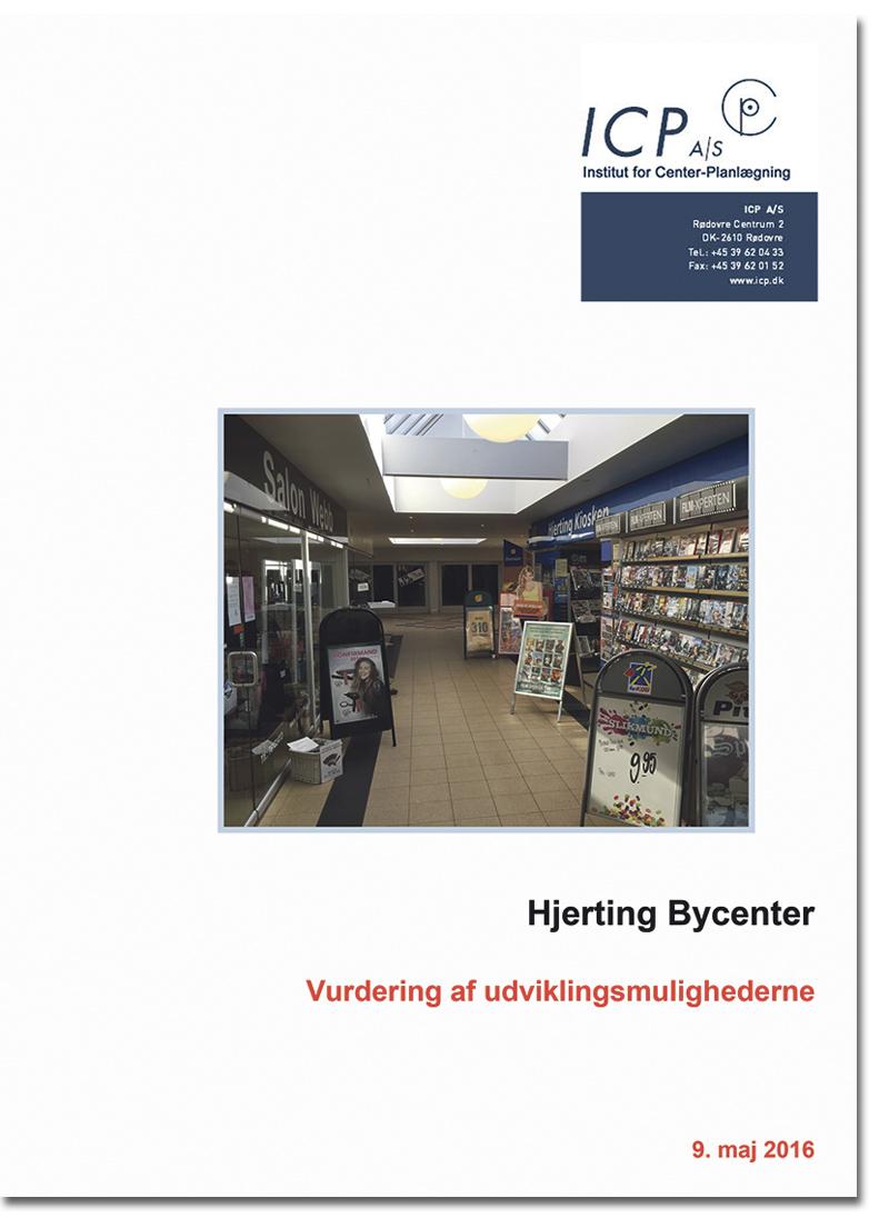 Hjerting Bycenter analyse forside