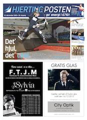 Hjerting Posten 201512 forside