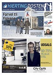 Hjerting Posten 201601 forside