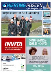 Hjerting Posten forside marts 2015