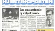 Hjerting Posten maj 1980 forside