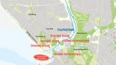 Kort Fovrfeld Bæk og udløb