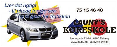 Launy hjemmeside 2009