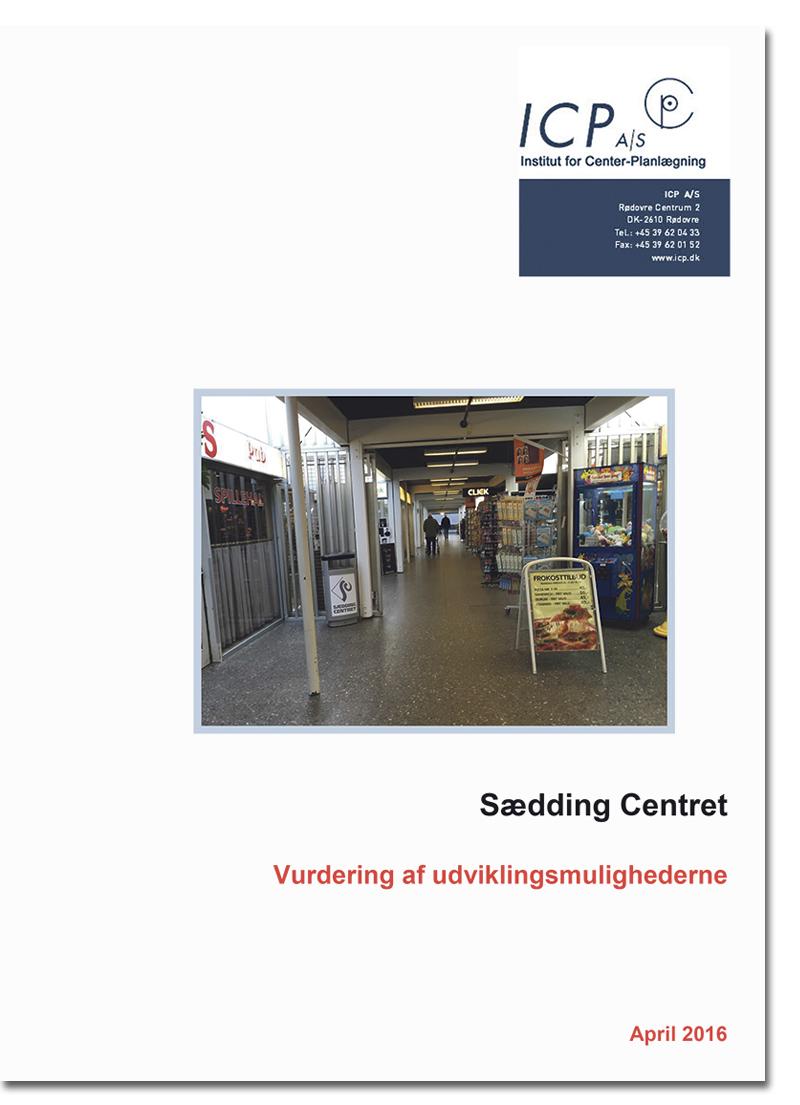 Sædding Centret analyse forside