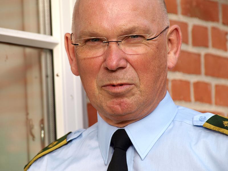 Vicepolitiinspektør Christian Østergård, Syd- og Sønderjyllands Politi, Forebyggelsessektionen.