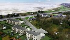 Boligprojektet Strandkanten - der tidligere blev kaldt for Strandparken - har nu fået grønt lys fra Plan & Miljø-udvalget. Arbejdet med veje og infrastruktur går i gang om en uge eller to, og de første huse står klar til oktober.